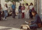 picture of me streetperforming in Alexandria decades ago