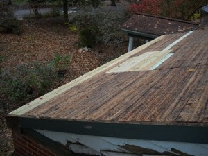 roof after new planks
