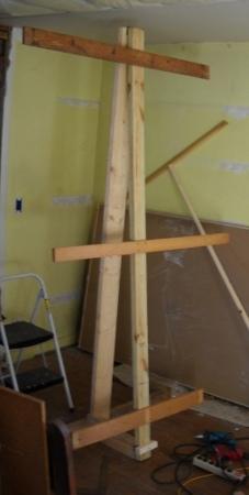 home made sheet rock lifter