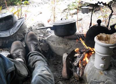 arctic campfire