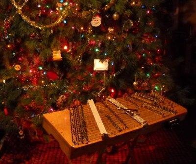 dulcimer and solstice tree