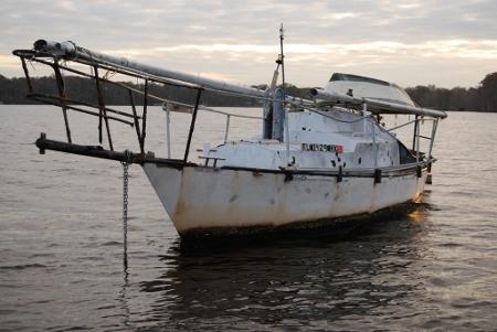 my sailboat Dueodde