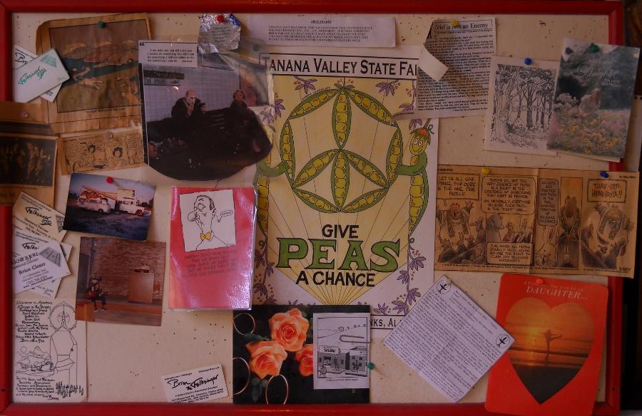ma's office bulletinboard
