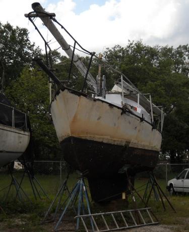 my sailboat in storage