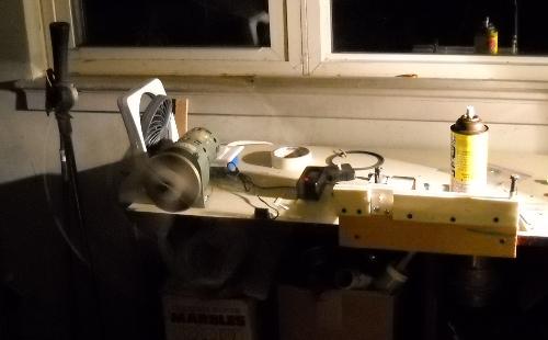 pickup winding machine