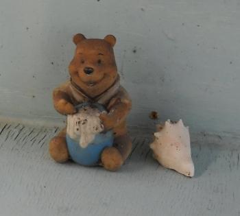 Winnie the Pooh, boat watchman