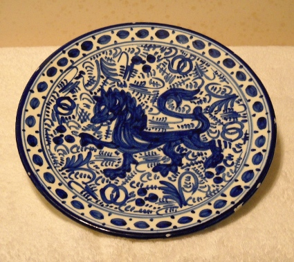 spanish serving plate