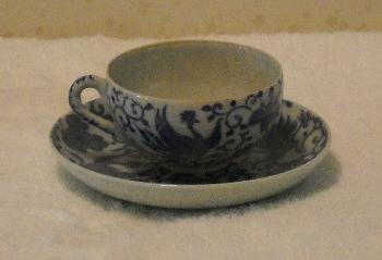 bluechina teacup