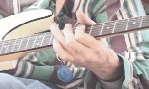 Joe playing lead