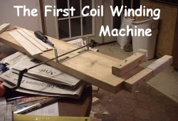 The First Coil Winding Machine