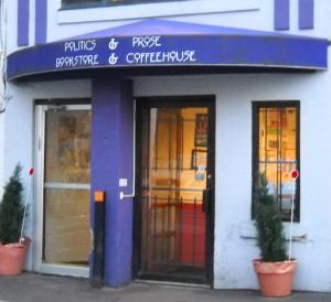 politics and prose coffeeshop-bookstore