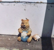 Pooh on watch